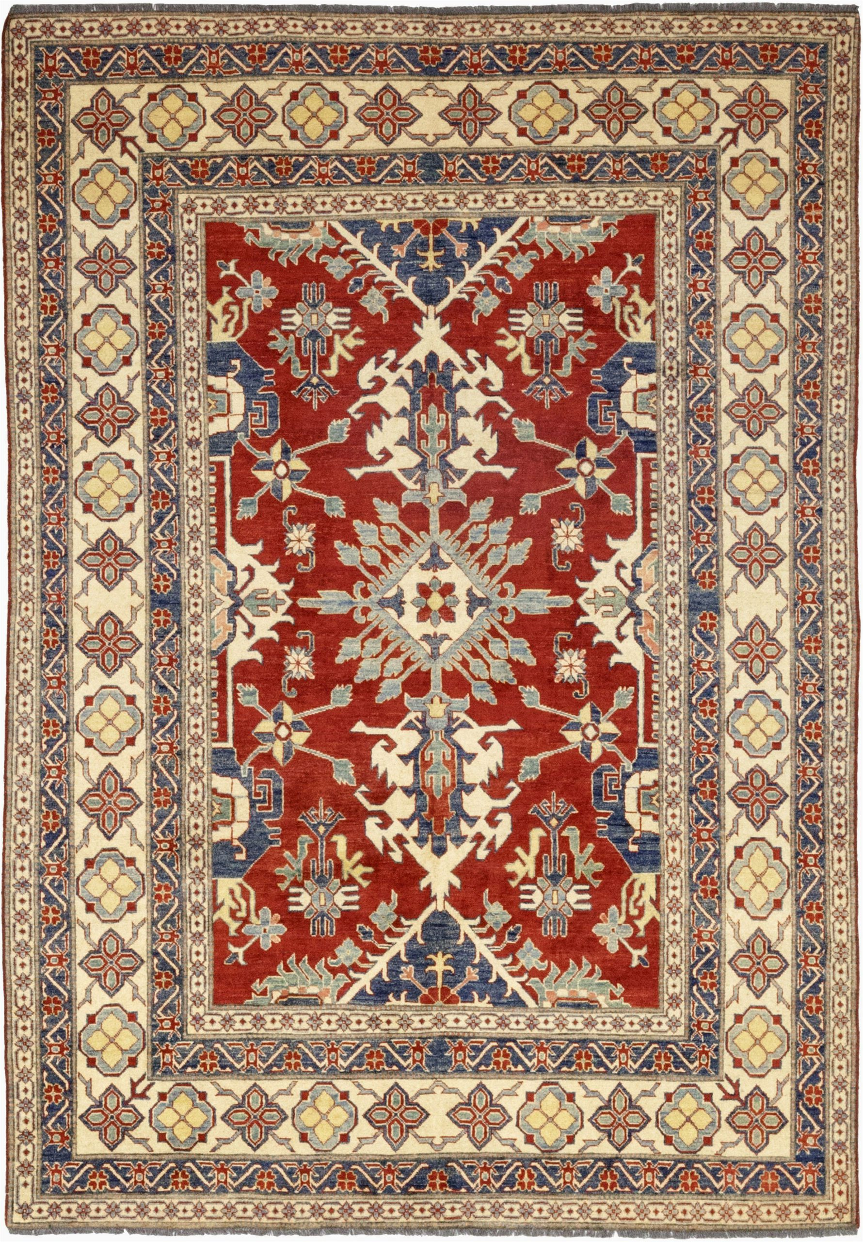 lowes area rugs clearance hand knotted kazak rectangle area rug design m1525 656 from lowes area rugs clearance