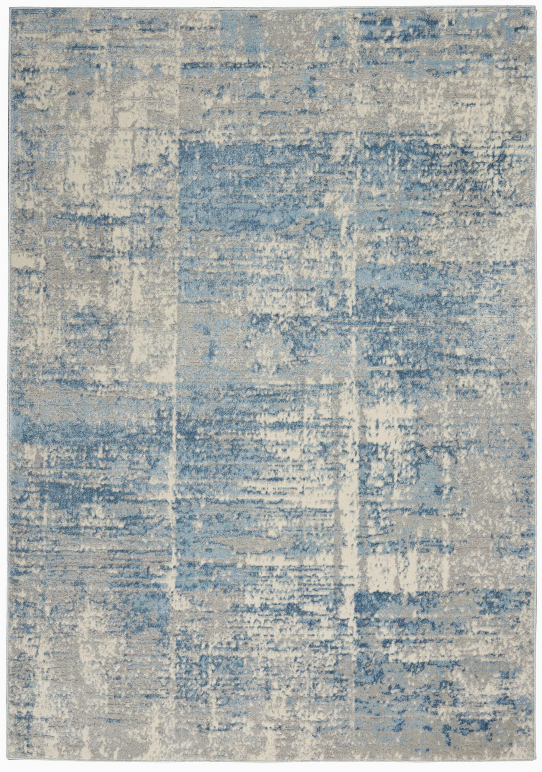 lyndsey abstract grayblue area rug
