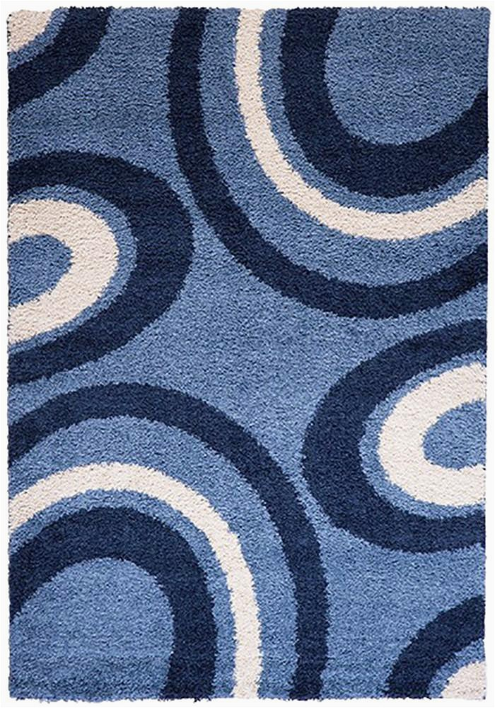 Extra Large Blue Rugs Cabana 882 Blue Extra Rug In Size 240cm X 340cm