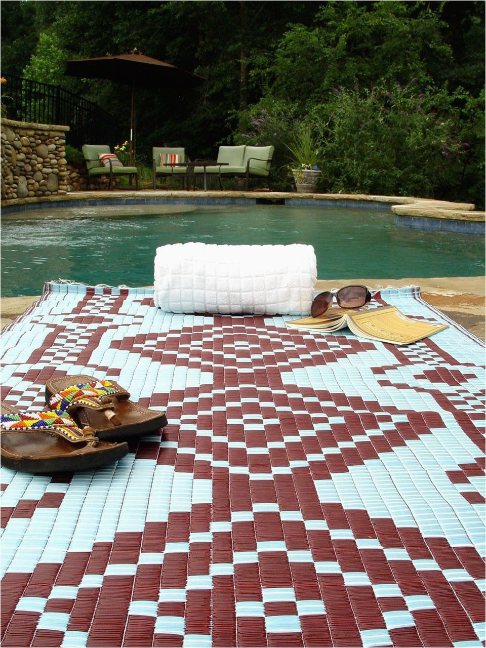 Extra Large Outdoor area Rugs Extra Plastic Outdoor Rug Brown and White