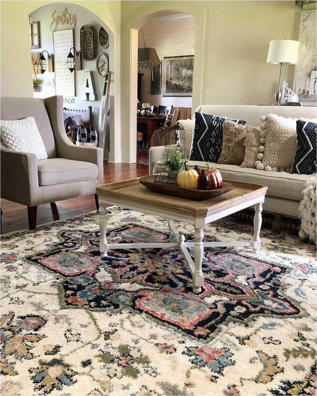 Farmhouse Living Room area Rugs Farmhouse Style area Rug Living Room Modern Farmhouse
