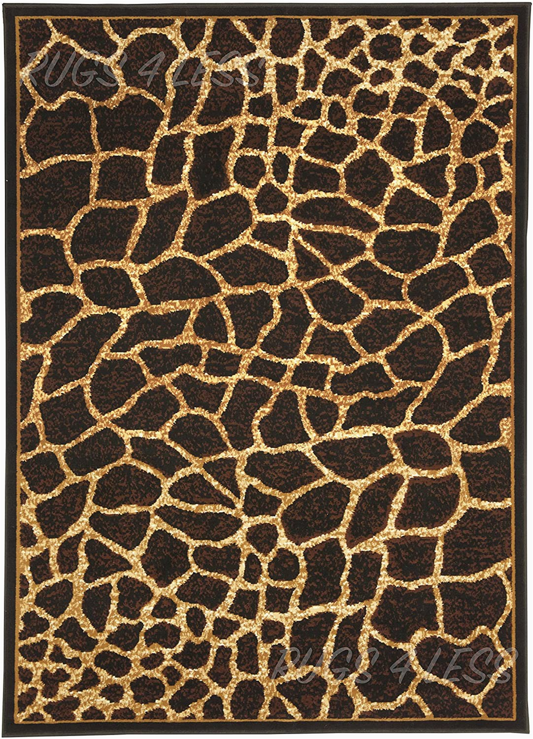 Faux Animal Skin area Rugs Faux Giraffe Skin Animal area Rug Animal Skin Pelt area Rug Giraffe Skin 5 X7 5ft X 7ft