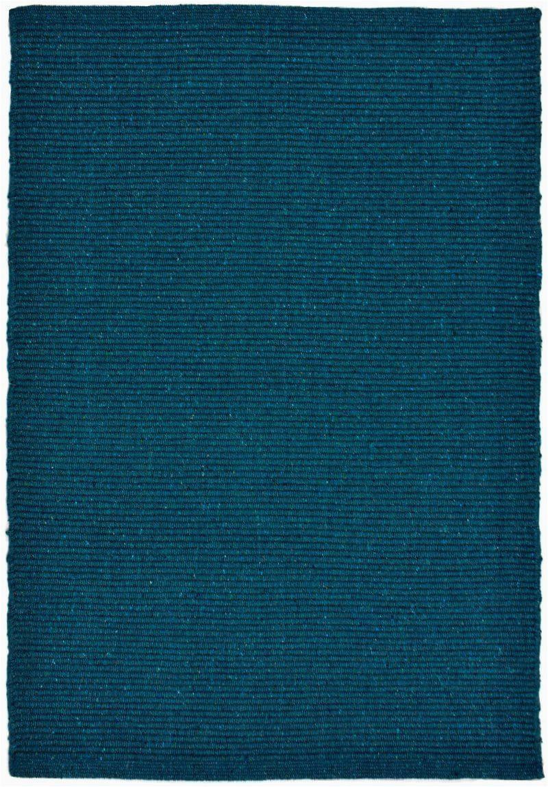 solid teal flatweave eco cotton rug 24X main 800x1150