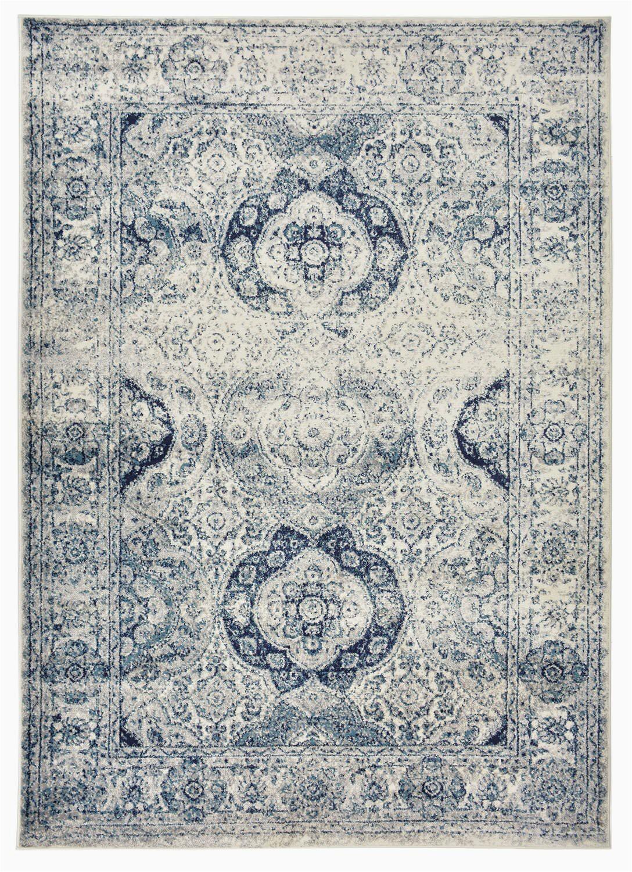 dalton vintage french aubusson whiteblue area rug