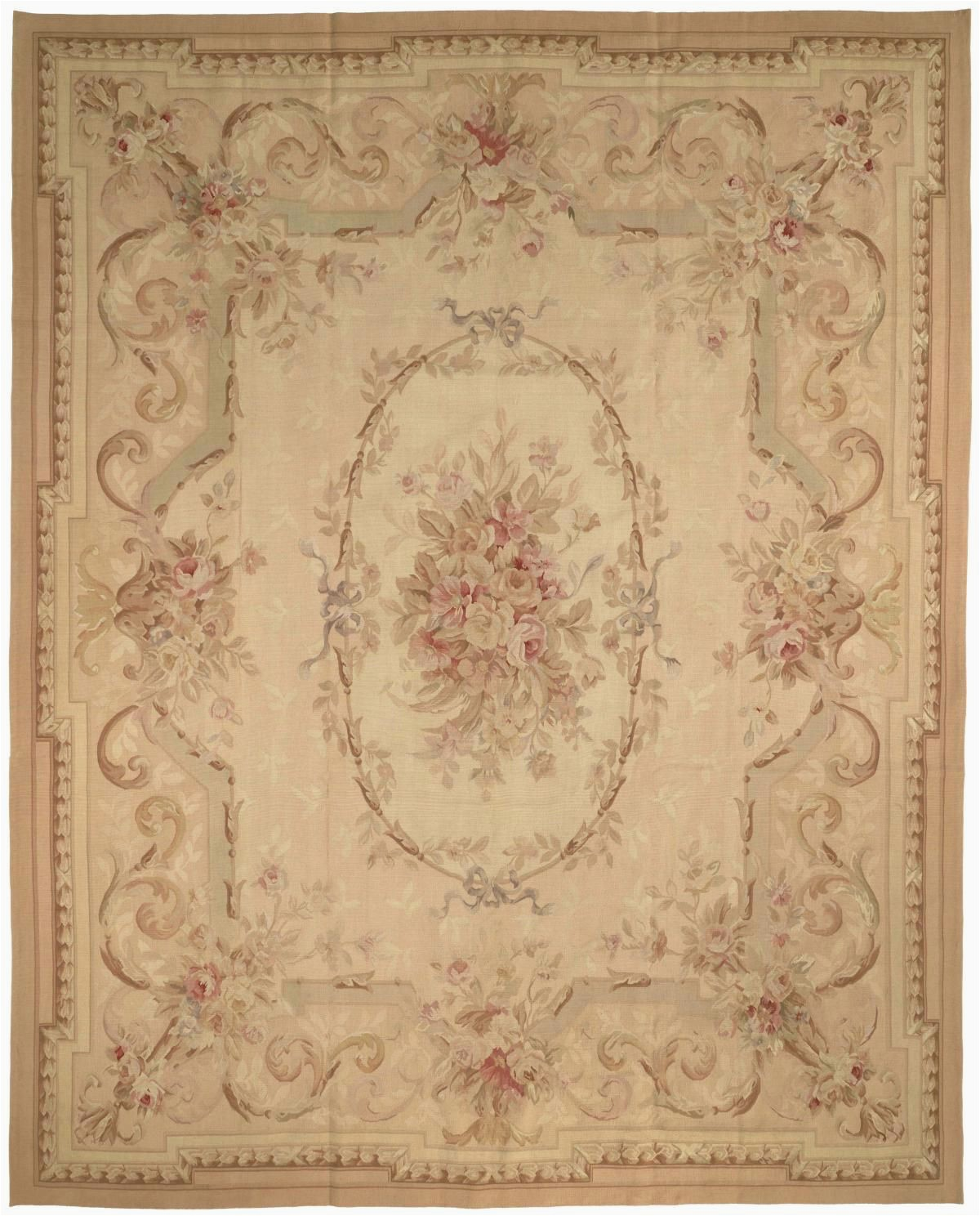 French Country Style area Rugs Rug Au16 Aubusson area Rugs by