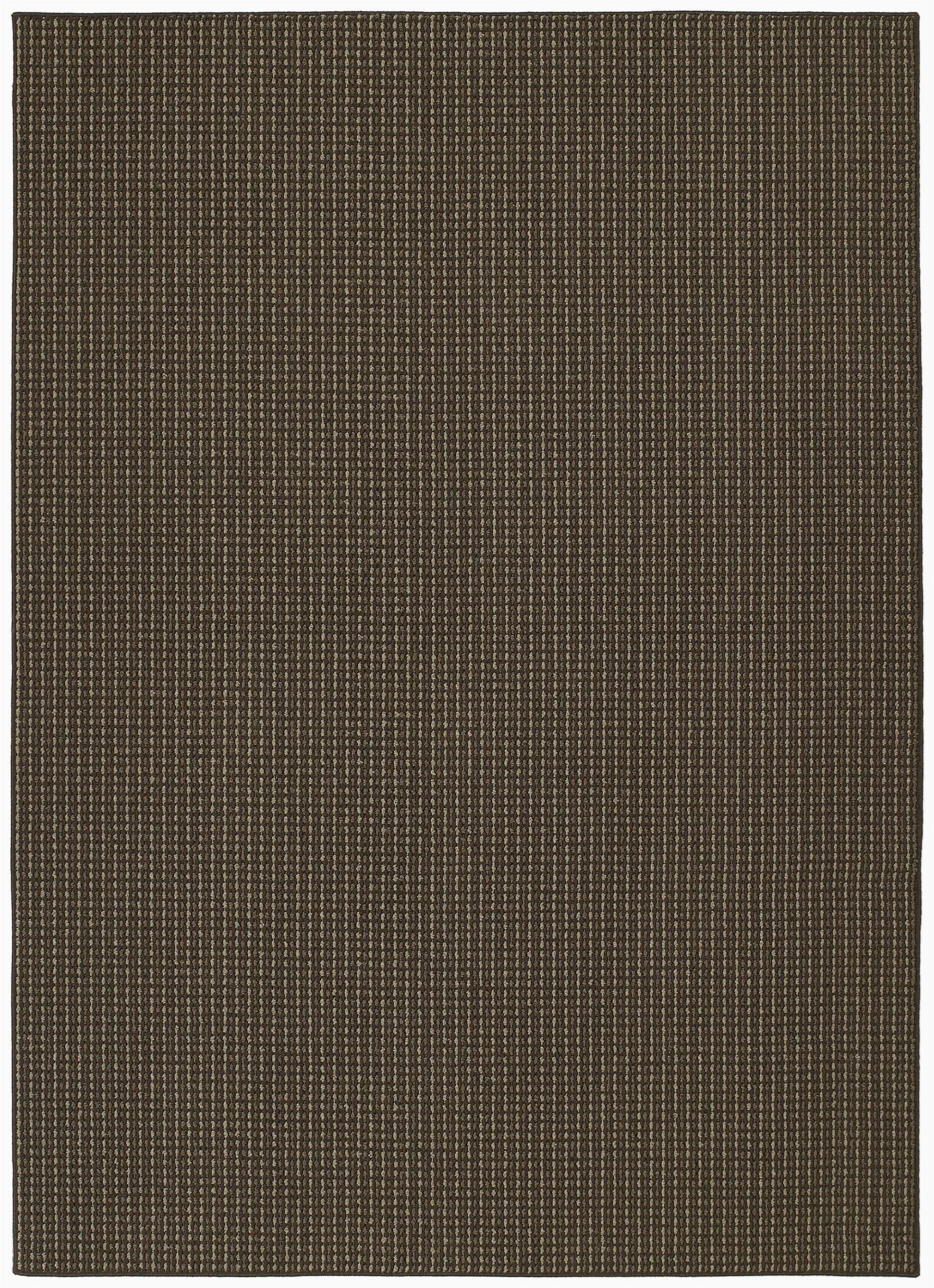 Garland Classic Berber area Rug Berber Colorations Striped Tufted Chocolate area Rug