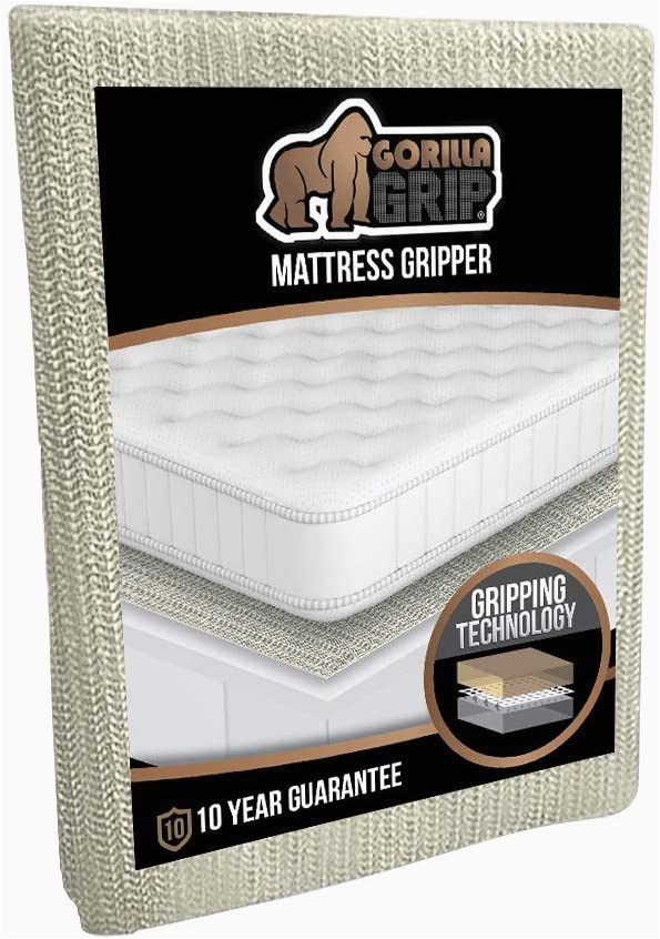 """Gorilla Grip Non Slip area Rug Pad the original Gorilla Grip Non Slip area Rug Pad & Mattress Gripper Made In Usa Available In Many Sizes Queen 54"""" X 72"""""""