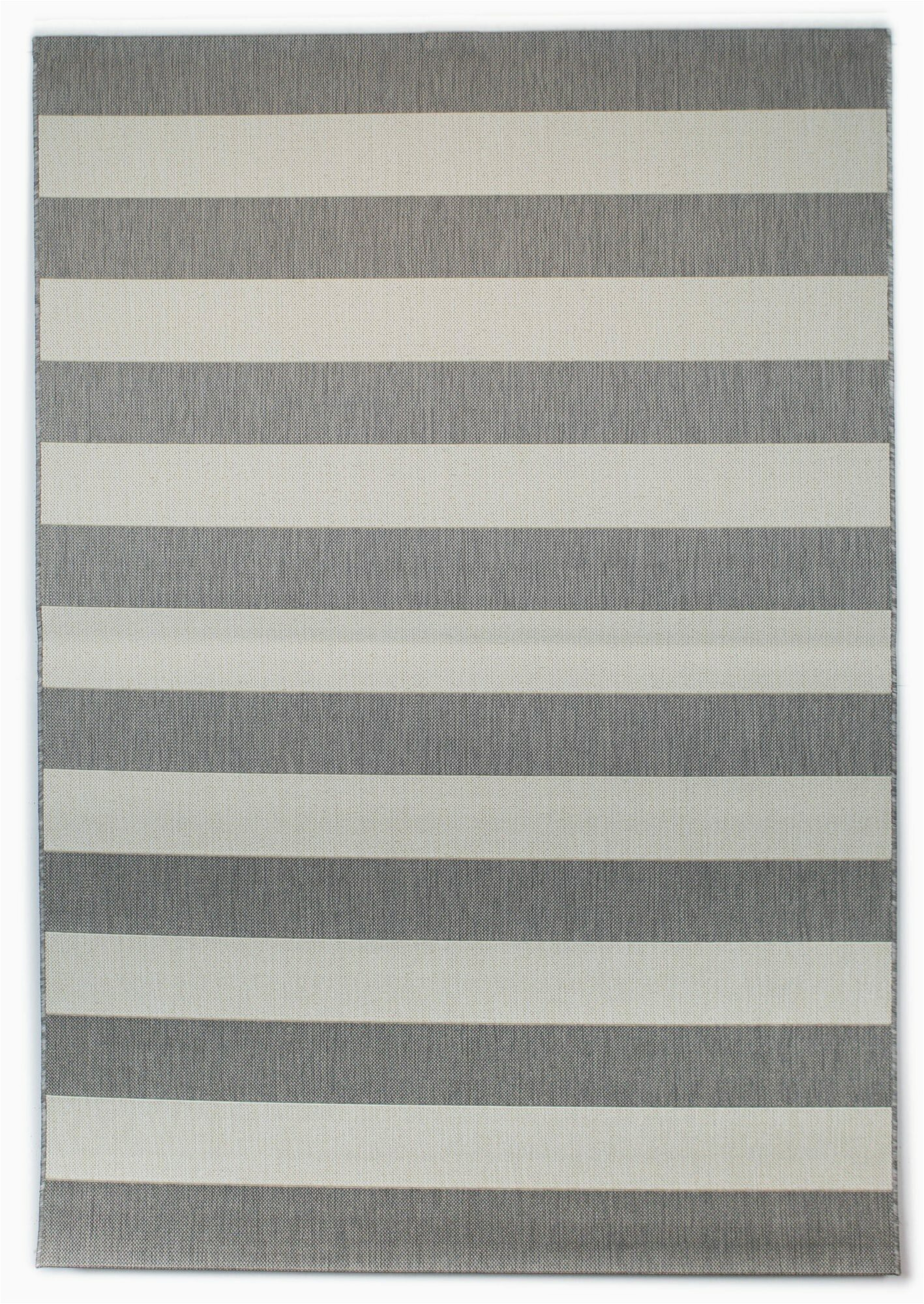 gonsalez striped graywhite indoor outdoor area rug