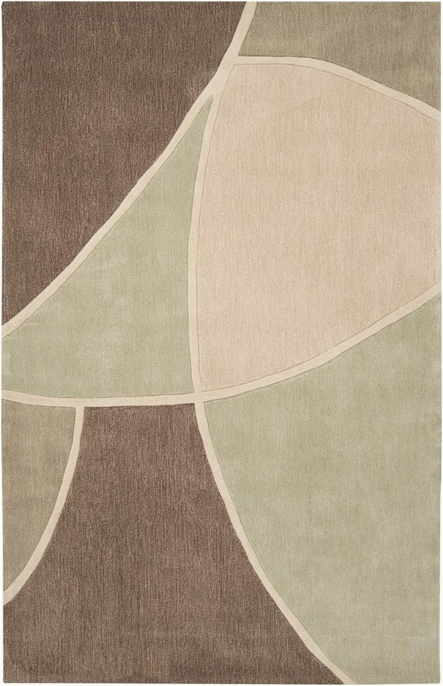 Cosmopolitan Collection Area Rug in Sage Green Sand and Tan design by Surya 58 fabb1cc5 e3d4 4877 8260 ce8b5074c04c