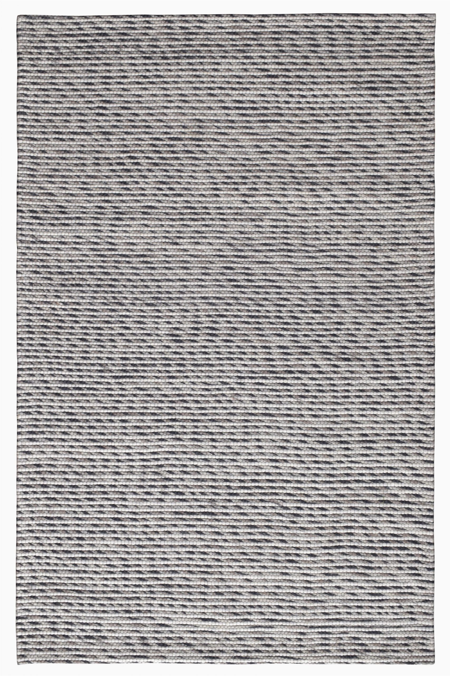 serna striped handmade flatweave wool grayblack area rug