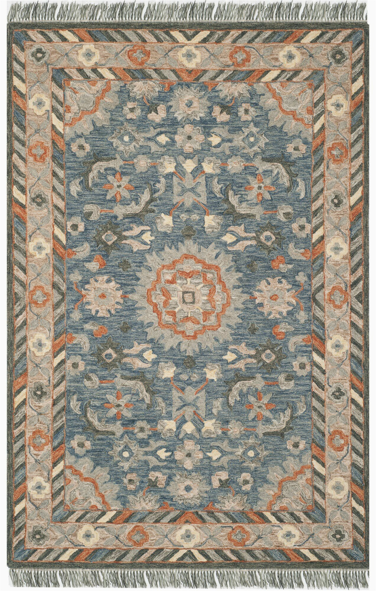 bungalow rose gooden hand tufted wool blue area rug bnrs7259 piid=