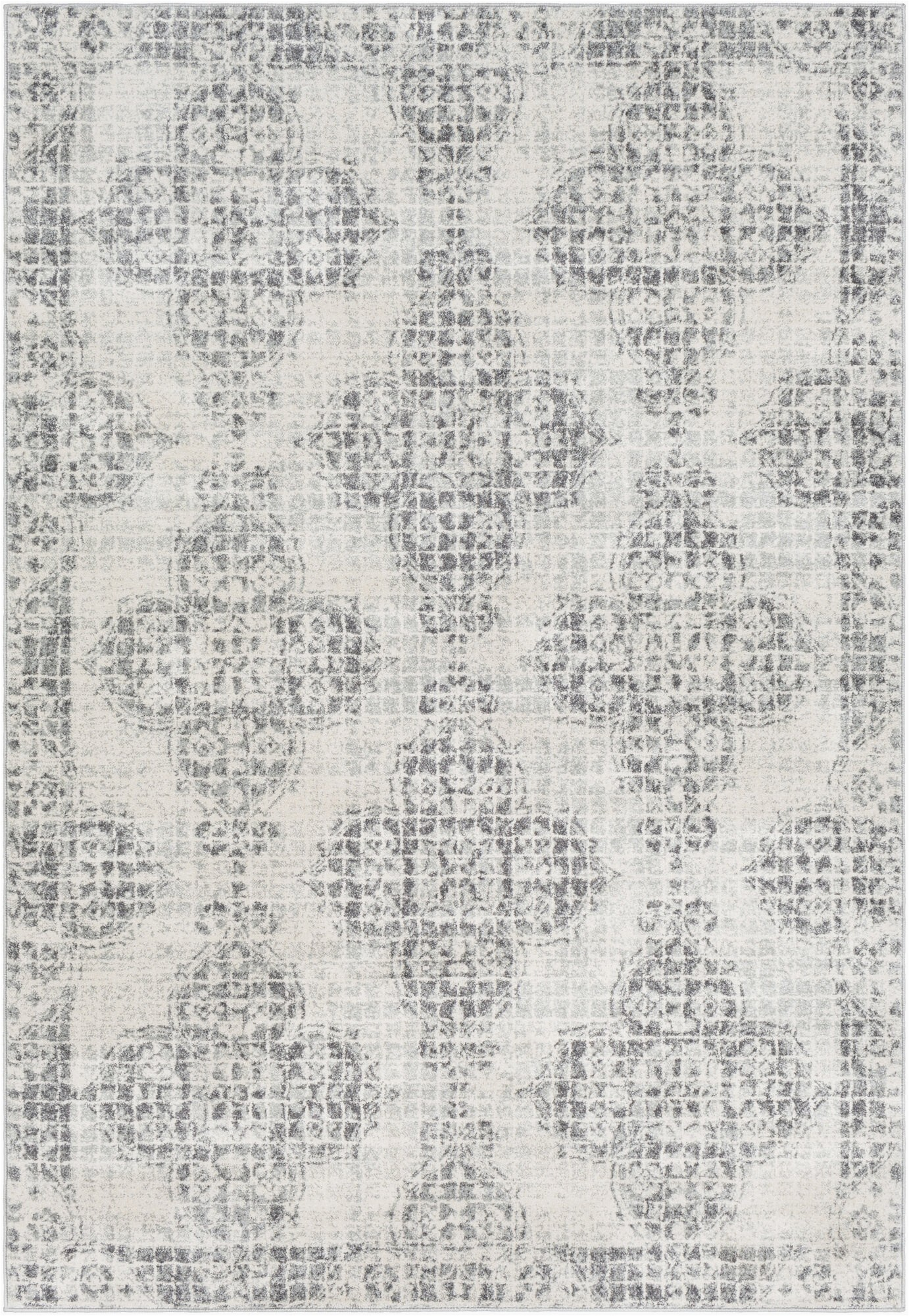 hillsby oriental light graycharcoalbeige area rug