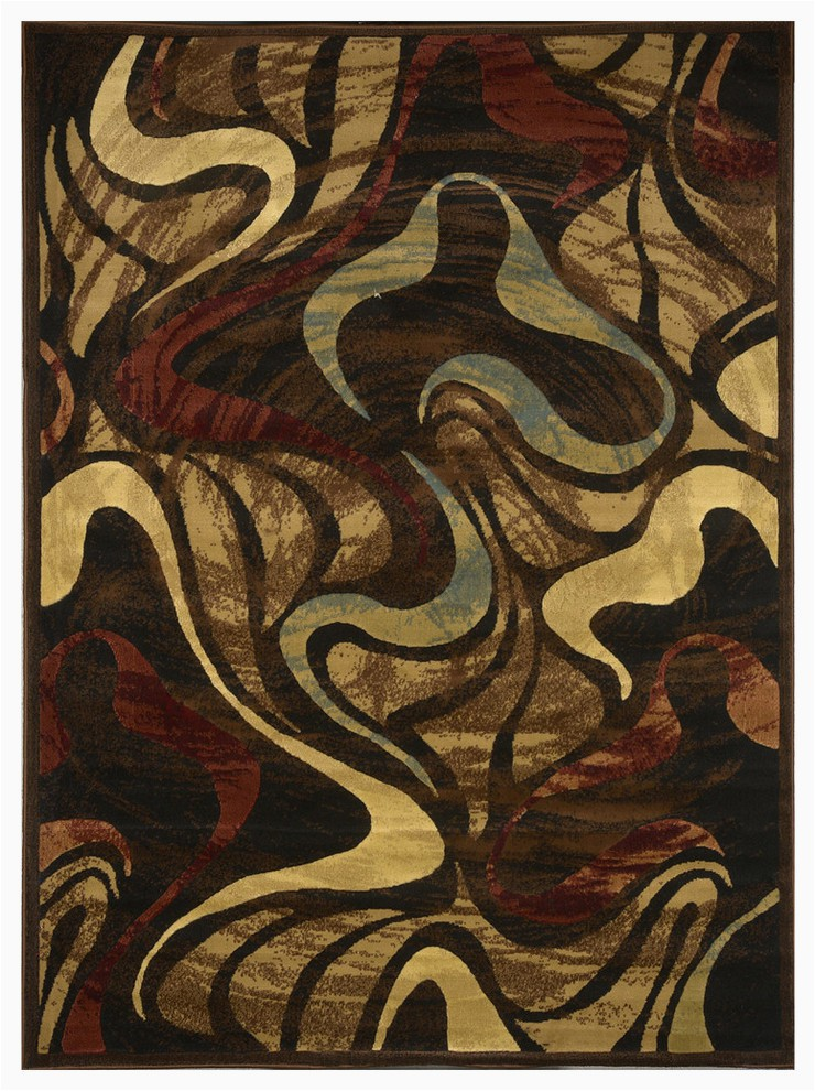 home dynamix catalina picasso area rug 19 6x31 5 abstract black prvw vr