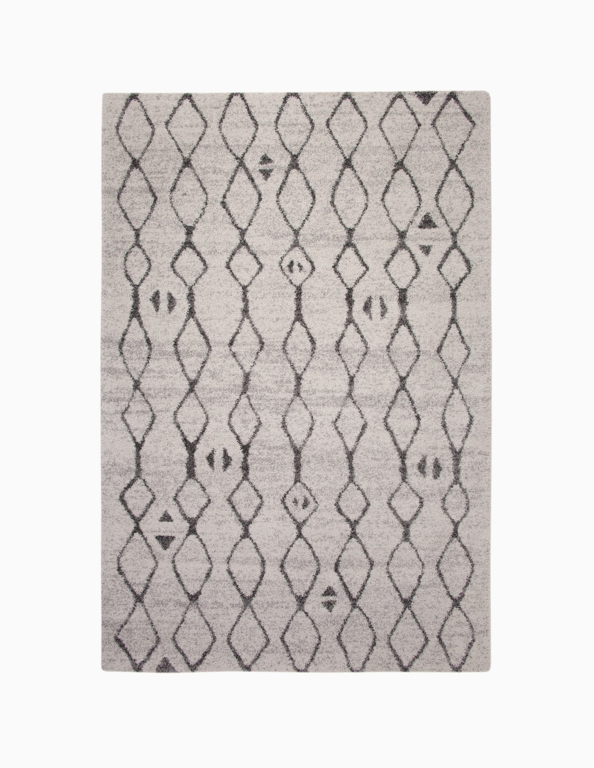 adamsburg geometric ivorycharcoal area rug