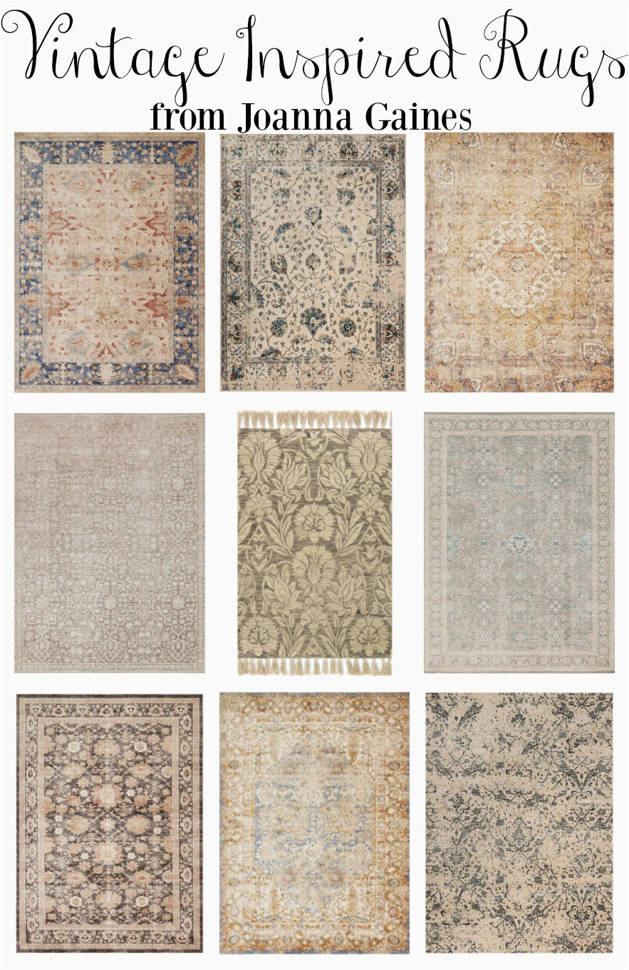 Vintage Inspired Rugs from Joanna Gaines 2