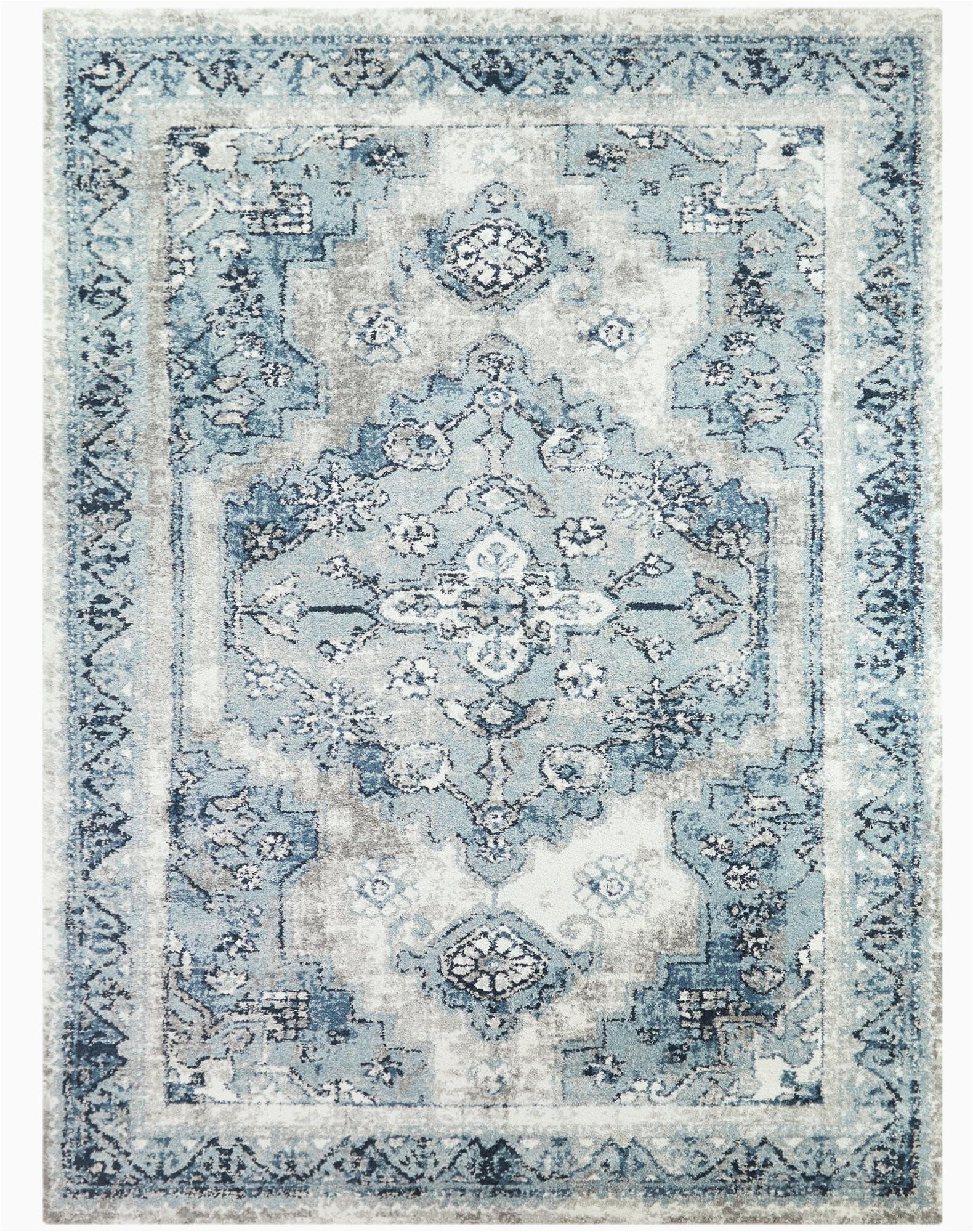 selsey oriental light bluegray area rug