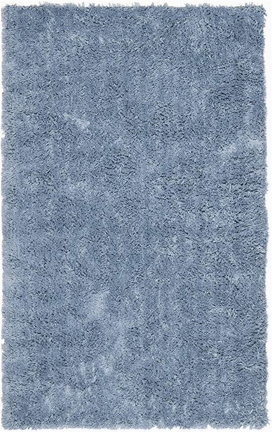 Light Blue Shag area Rug Safavieh Classic Shag Collection Sg240c Handmade 1 75 Inch Thick area Rug 2 X 3 Light Blue
