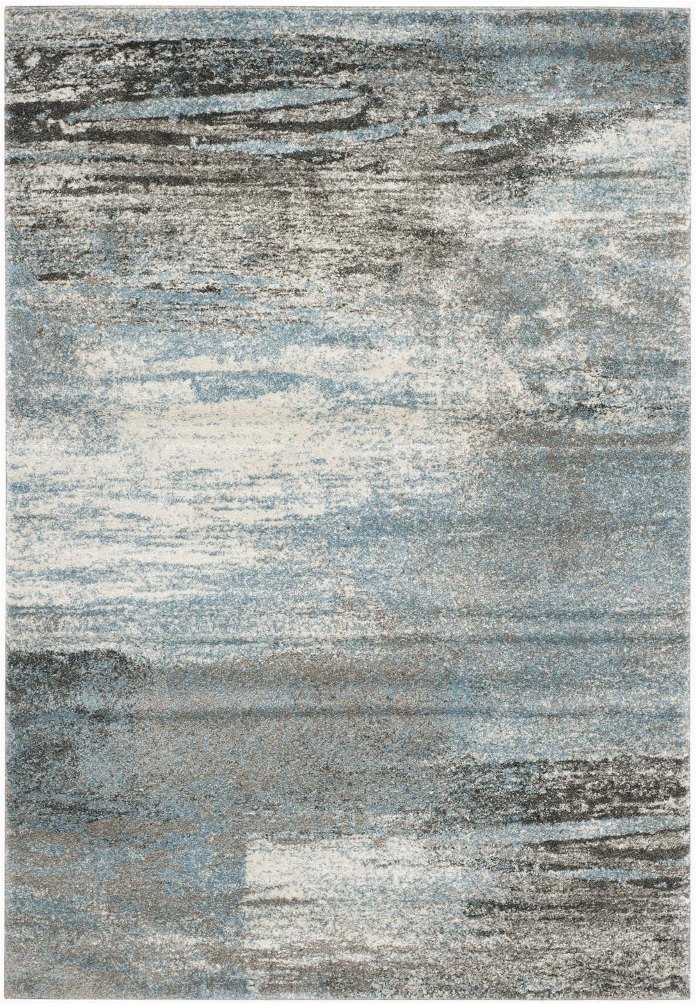 Safavieh Tahoe TAH479D Grey and Light Blue rugs