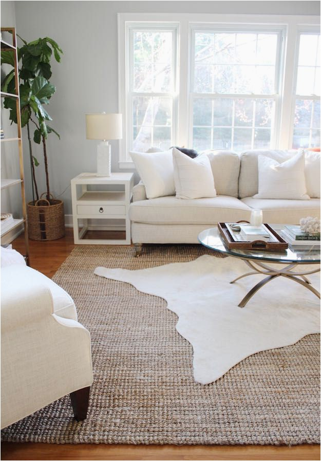 Living Room Large area Rugs Layered