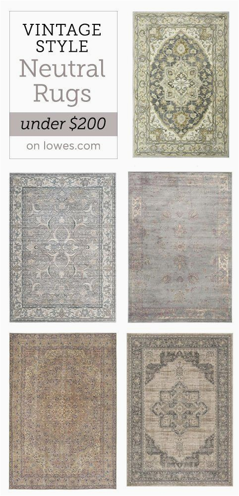 Lowes Room Size area Rugs My Favorite Neutral Rugs Under $200 From Lowe S