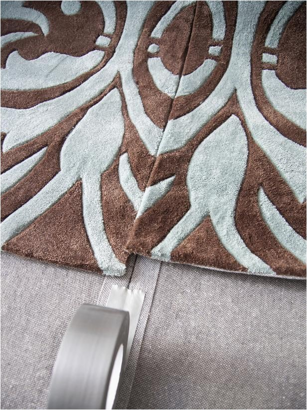 Make area Rug From Carpet How to Make E Custom area Rug From Several Small