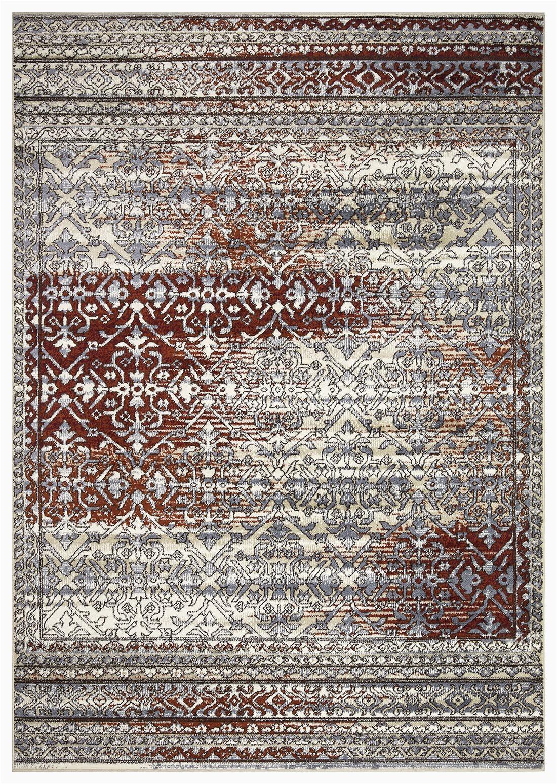 artemis collection vintage oriental area rug 1006a burgundy 5 2 x 7 6