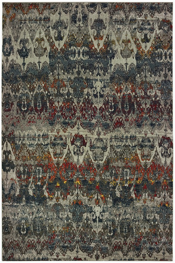 Maroon and Gray area Rugs oriental Weavers Mantra 48 area Rugs