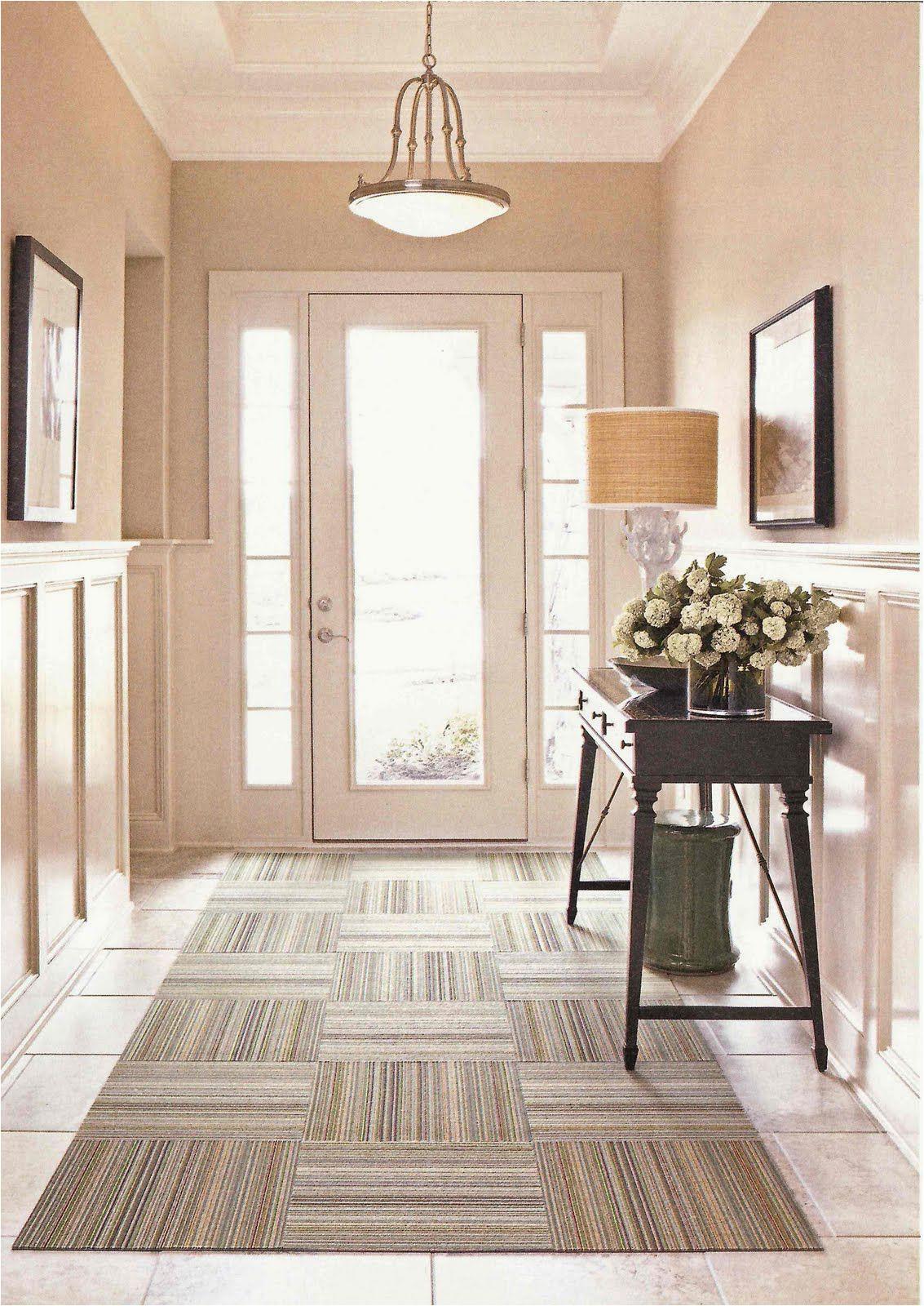 Martha Stewart Manor House area Rug Fabulous Foyers with Images