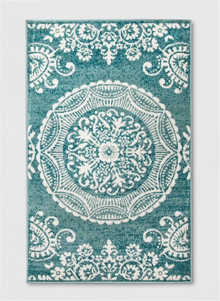 Mcelrath Blue Brown area Rug Vintage Inspired Finds From A Big Box Store