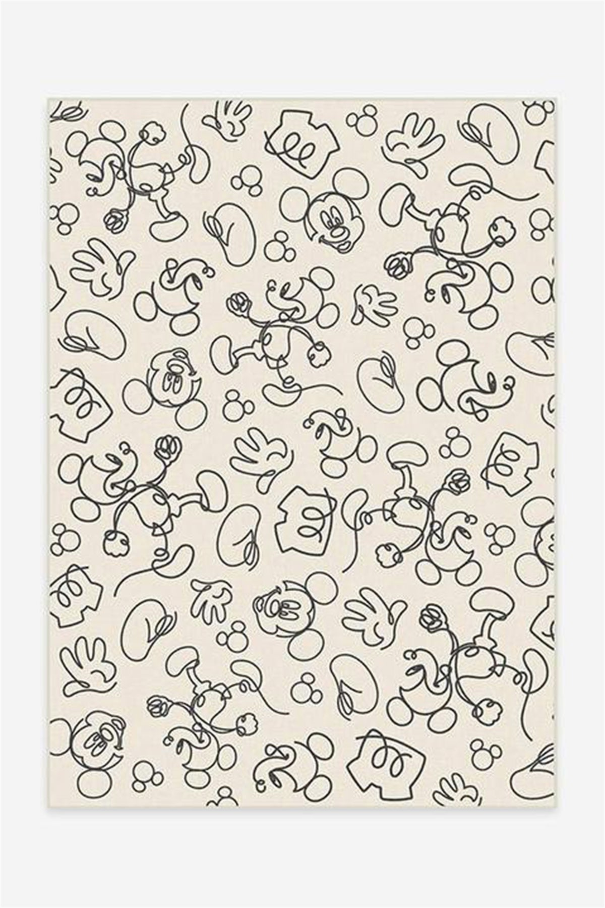 Mickey and Minnie area Rug Ruggable Just Launched A Line Of Washable Disney Rugs