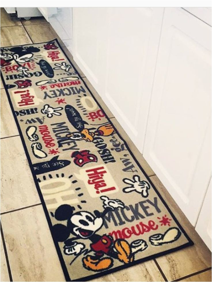 Mickey and Minnie Mouse area Rug June9