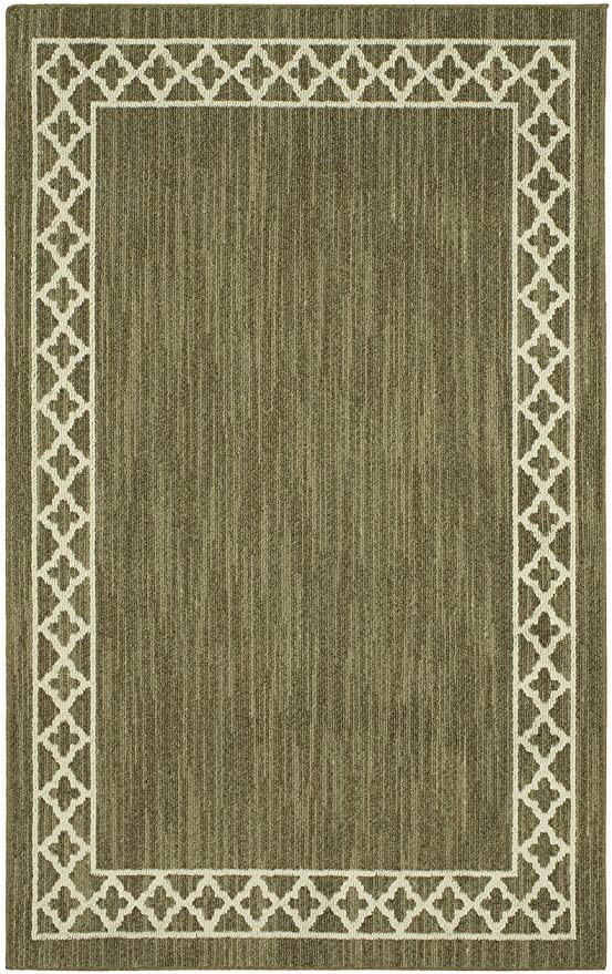 Mohawk Home area Rug 5×7 Amazon Mohawk Home Moroccan Border Dark Khaki Cream