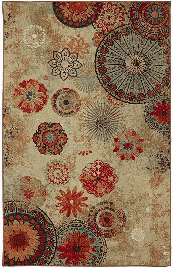 Mohawk Home area Rug 5×7 Mohawk Home Multi Alexa Medallion Multicolor area Rug 5 X8