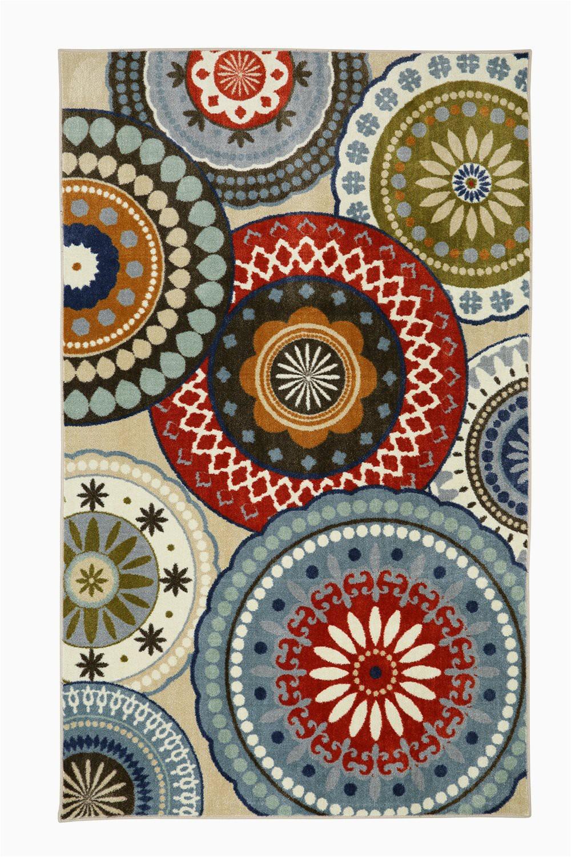 Mohawk Home Medallion Printed area Rug Mohawk Home Aurora Suzani Blue Vintage Printed area Rug 7 6×10 Multicolor