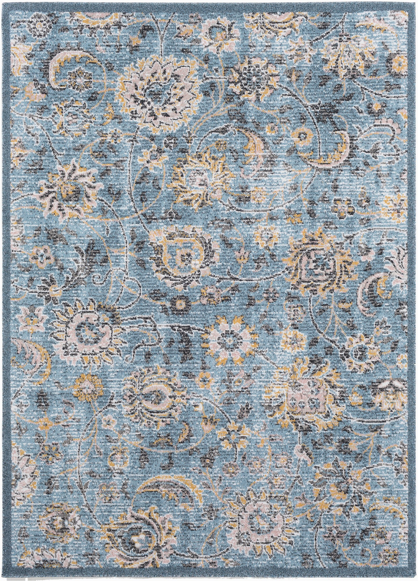 madeley aquamustard area rug