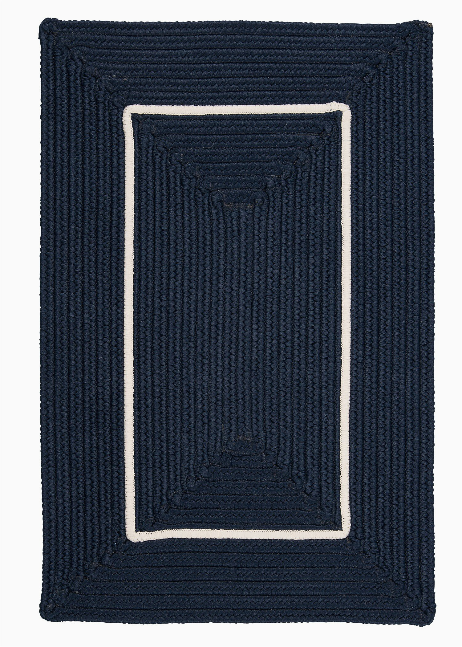 otis border in border braided navy indooroutdoor area rug