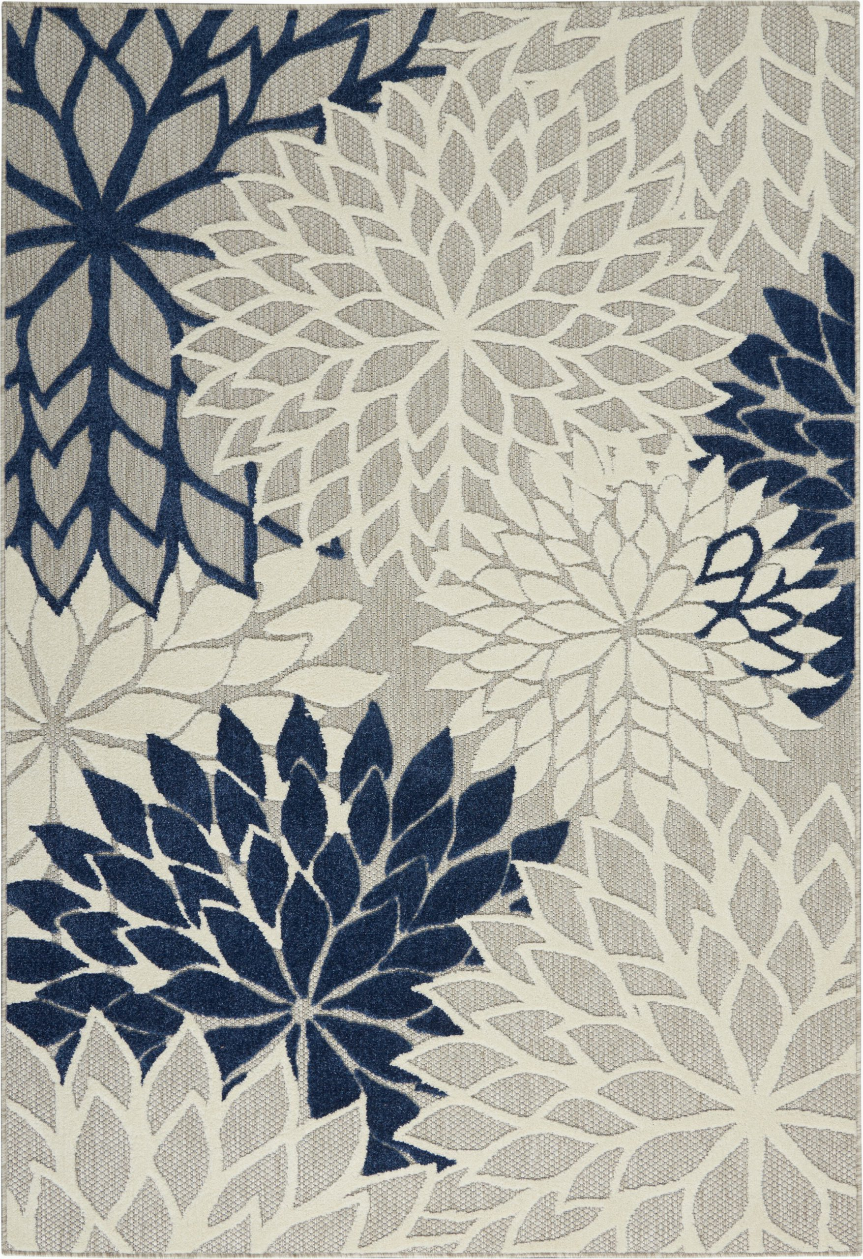 Navy Blue Floral area Rug Anallese Floral Navy area Rug