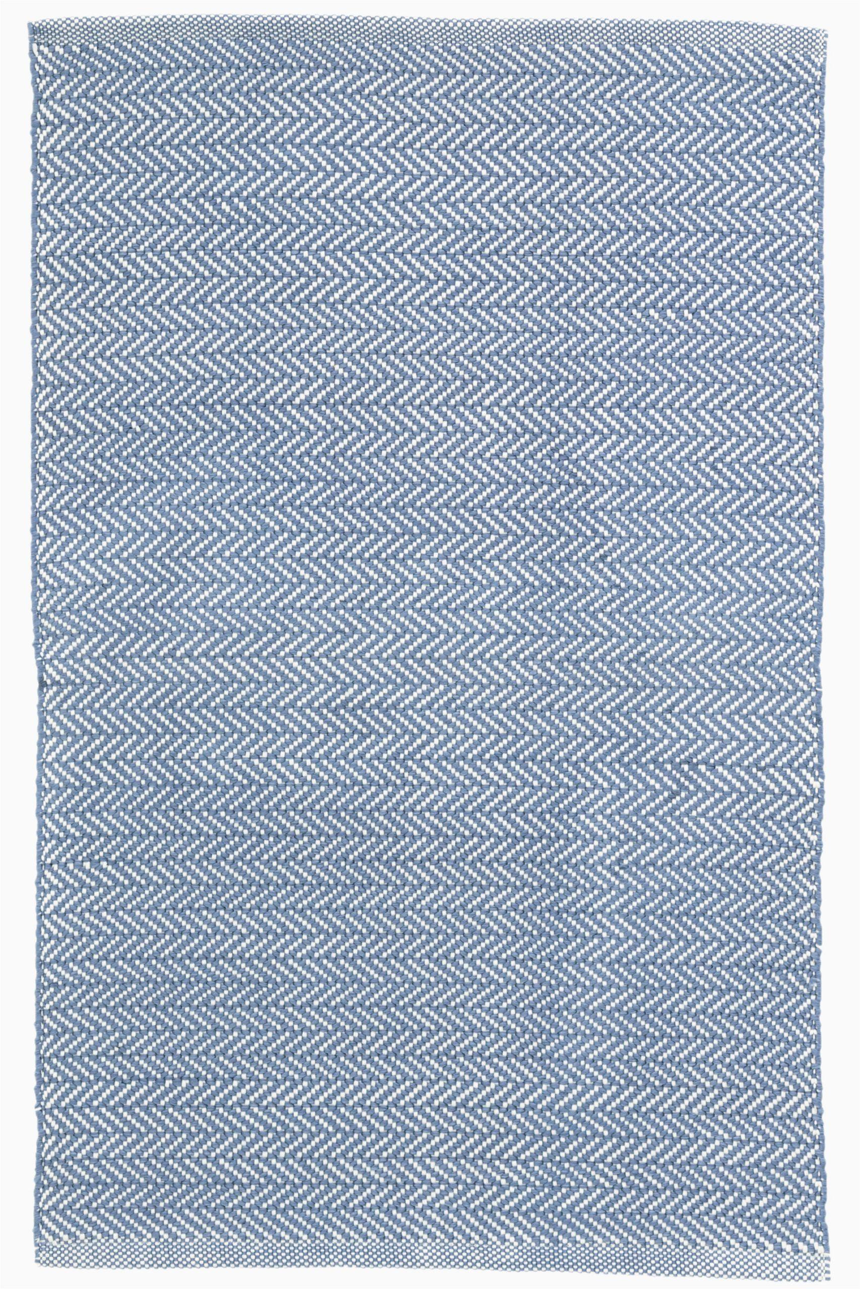 dash and albert rugs herringbone denim blue indoor outdoor area rug dax3646 piid=