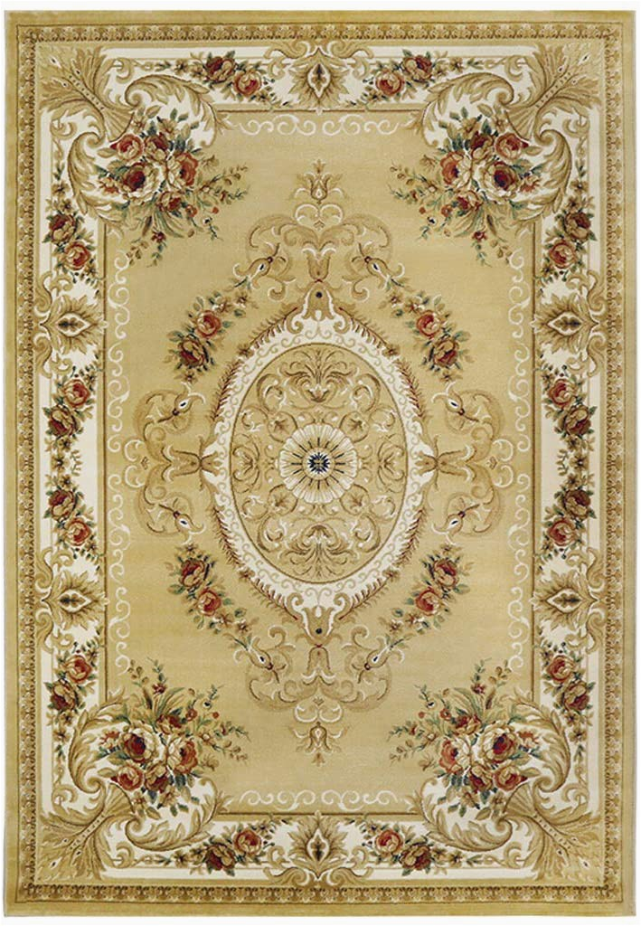 Non Slip area Rugs for Elderly Dmgy Traditional Braided Non Slip area Rug for Living Room