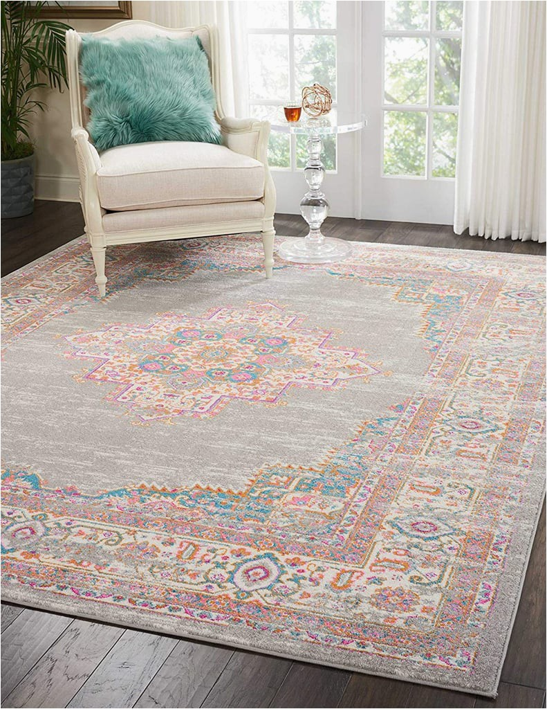 Nourison Passion Grey Area Rug
