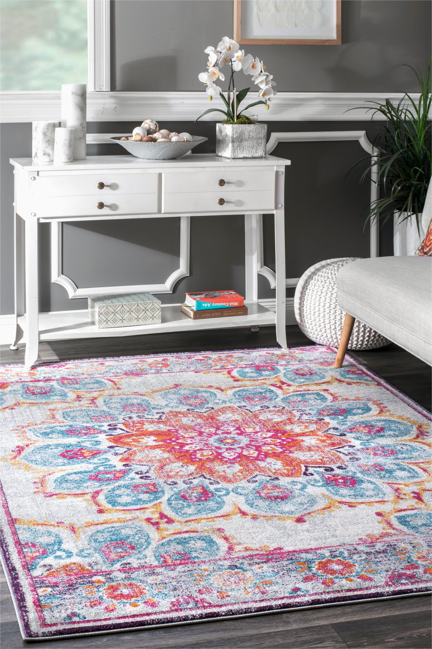 nuloom vintage floral kiyoko indoor rzbd59b area rug