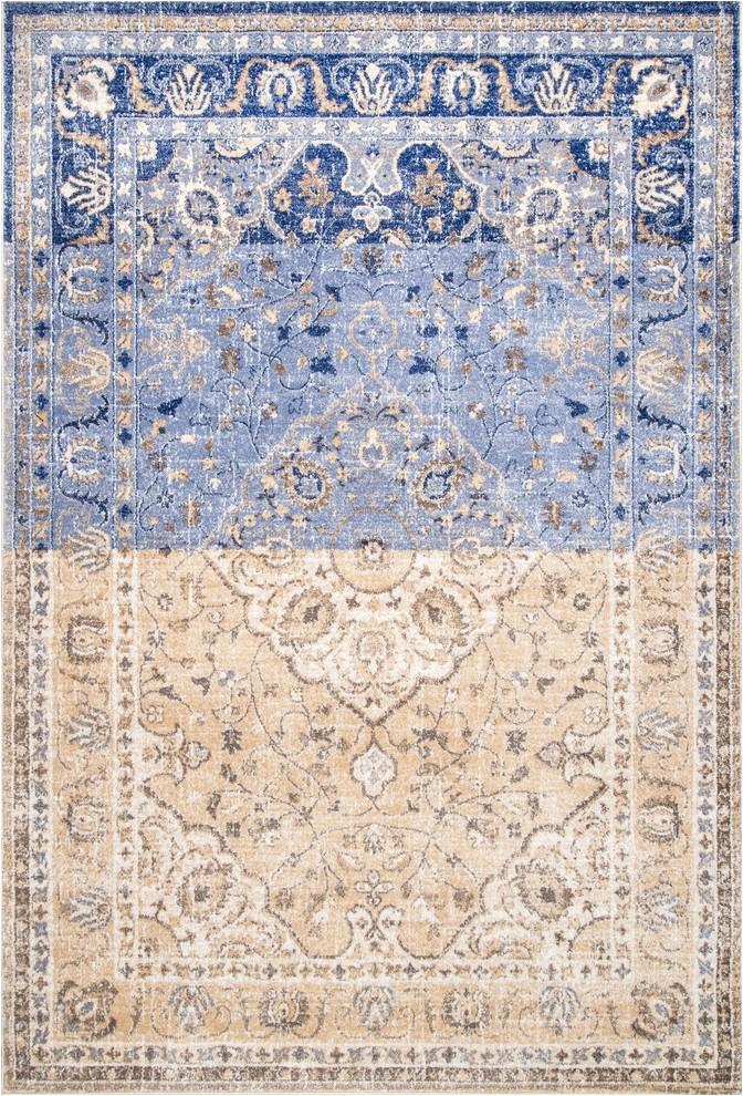 nuloom kirsten vintage style area rug multicolor 8x10 prvw vr