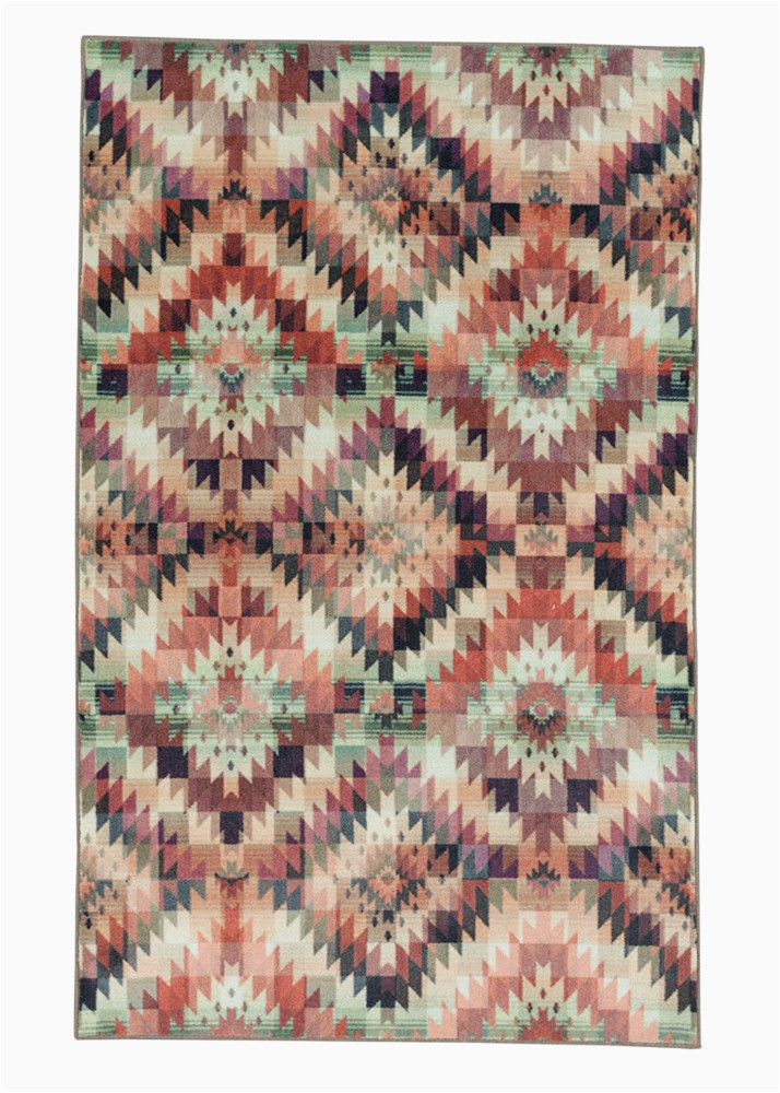 Olive Green area Rug Walmart Mohawk Prismatic area Rug Z0024 A514 Coral Olive Green Dimensional Colorful 5 X 8 Rectangle Walmart