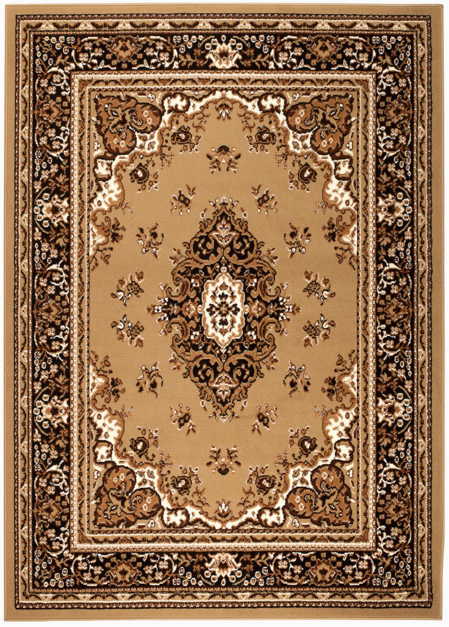 oppelo oriental beigebrown area rug