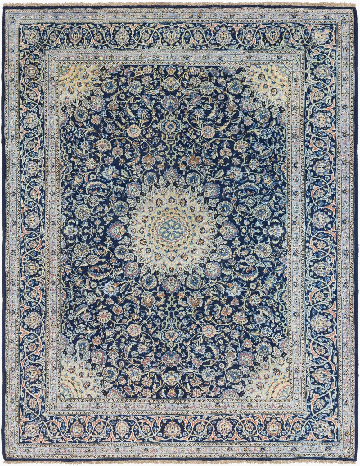 navy blue 10x13 kashmar persian rug