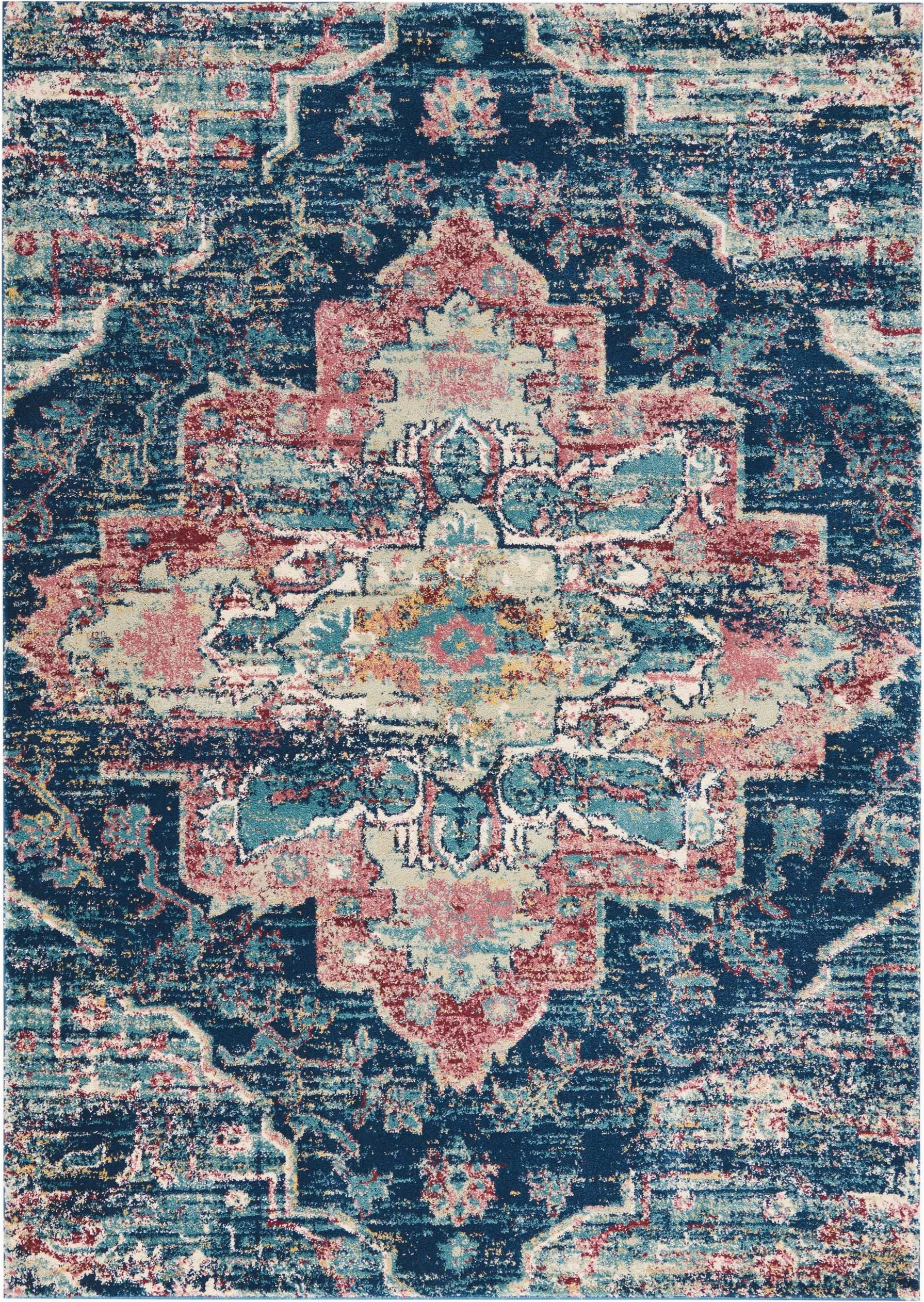 Pink and Blue Persian Rug Fss13 Fusion Navy Pink Traditional Persian Rug Design Takes