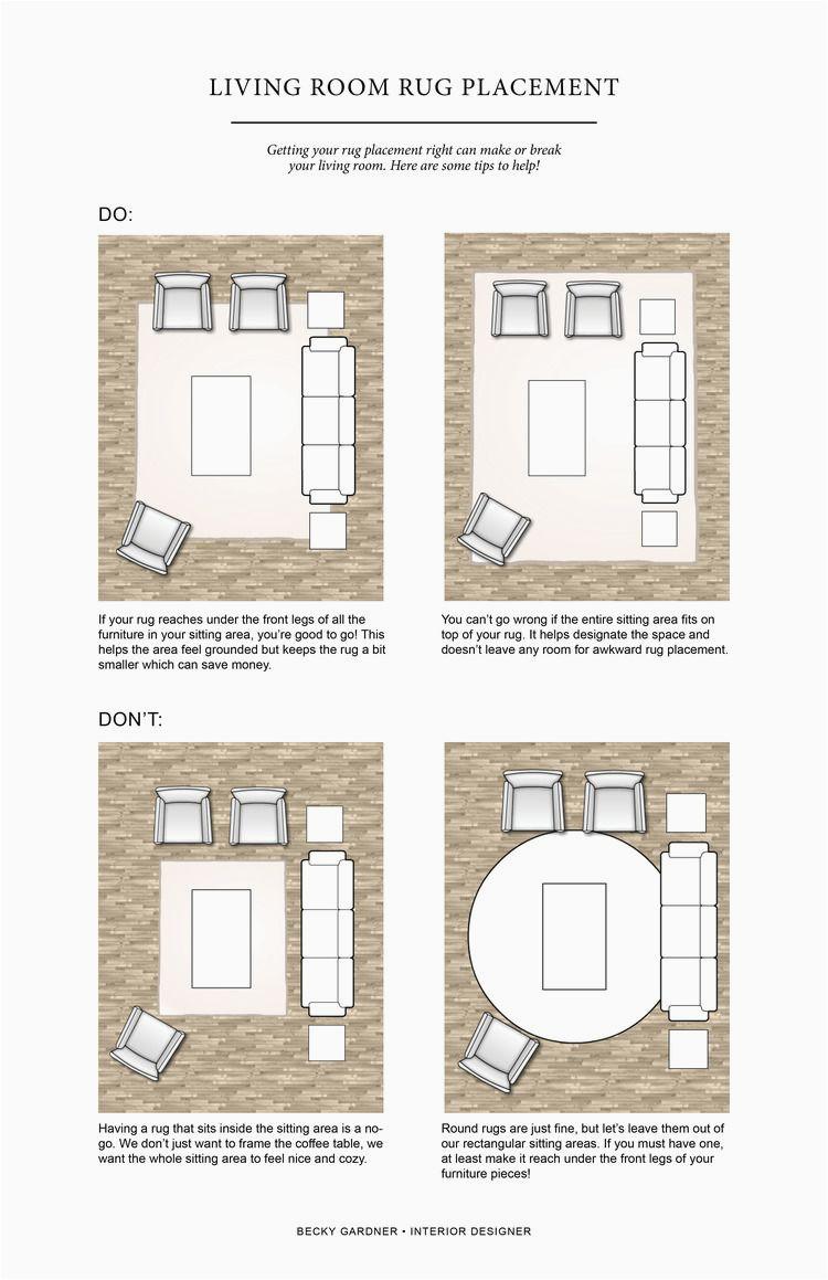 Placing Furniture On area Rug Ing soon