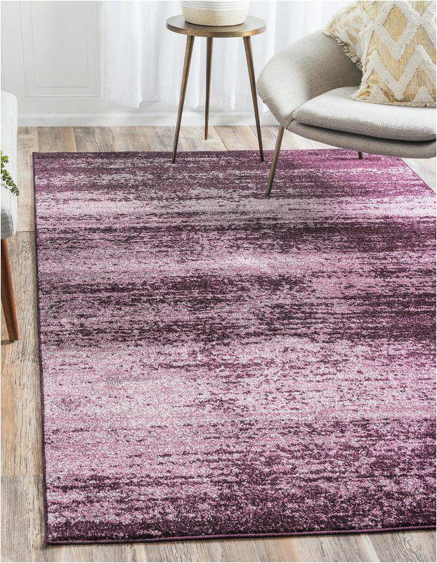 Purple area Rug for Bedroom Beverly Purple area Rug