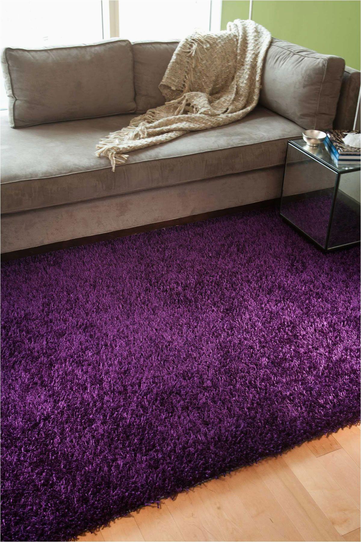 Purple area Rug for Bedroom Jaipur Flux Flux Tulip Purple
