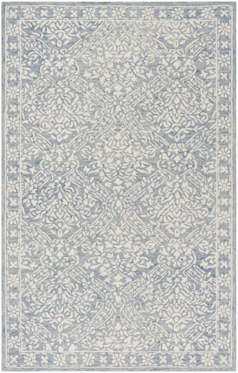 ralph lauren hand tufted lrl6935m blue ivory area rugx